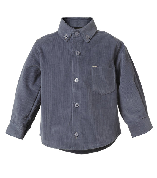 Baby Boy Blue Corduroy Shirt