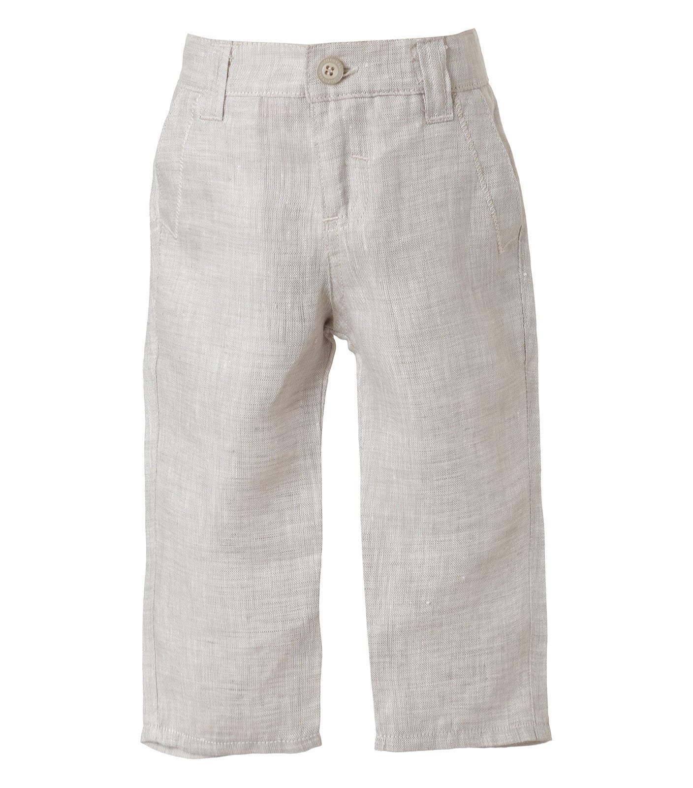 Baby Boy Lenin Beige Colour Pants