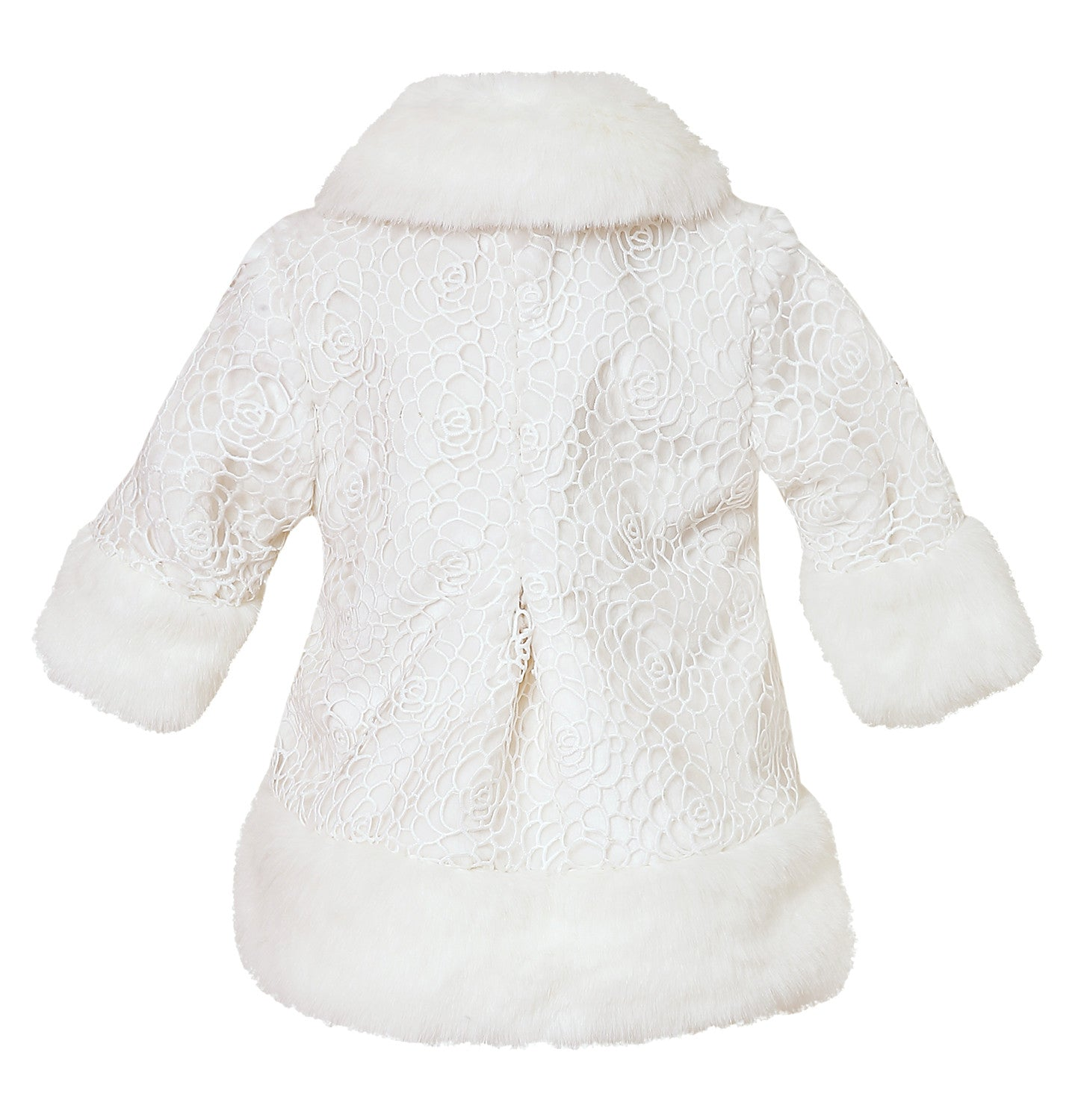 soft touching winter proof jacket for baby girls