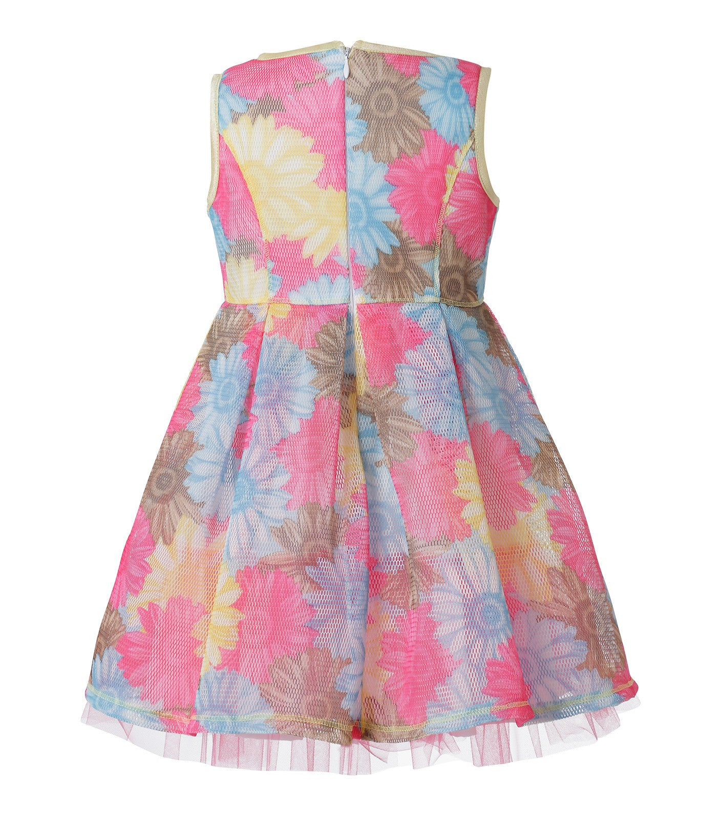 Floral Pattern Dress for girls