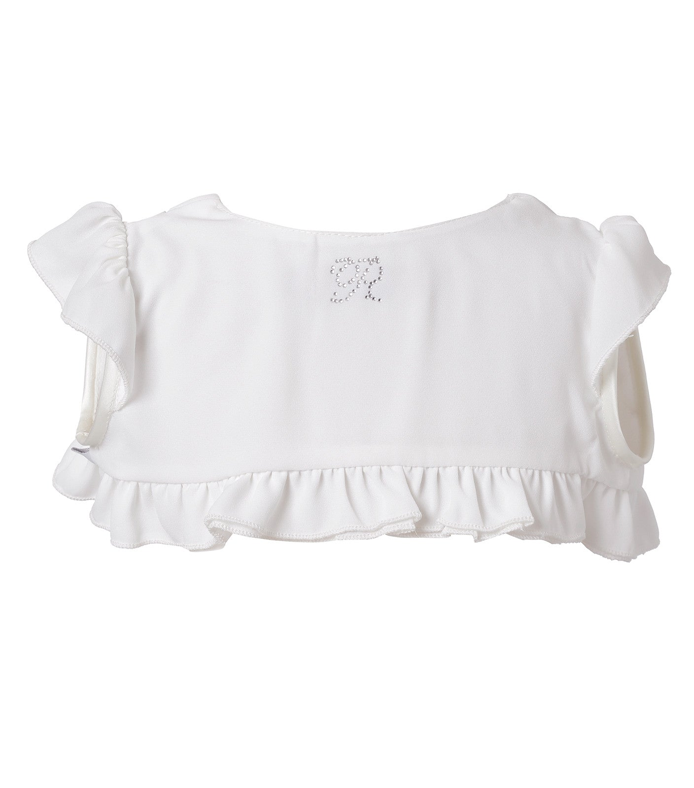 Baby Girls Christening Bolero in Ecru