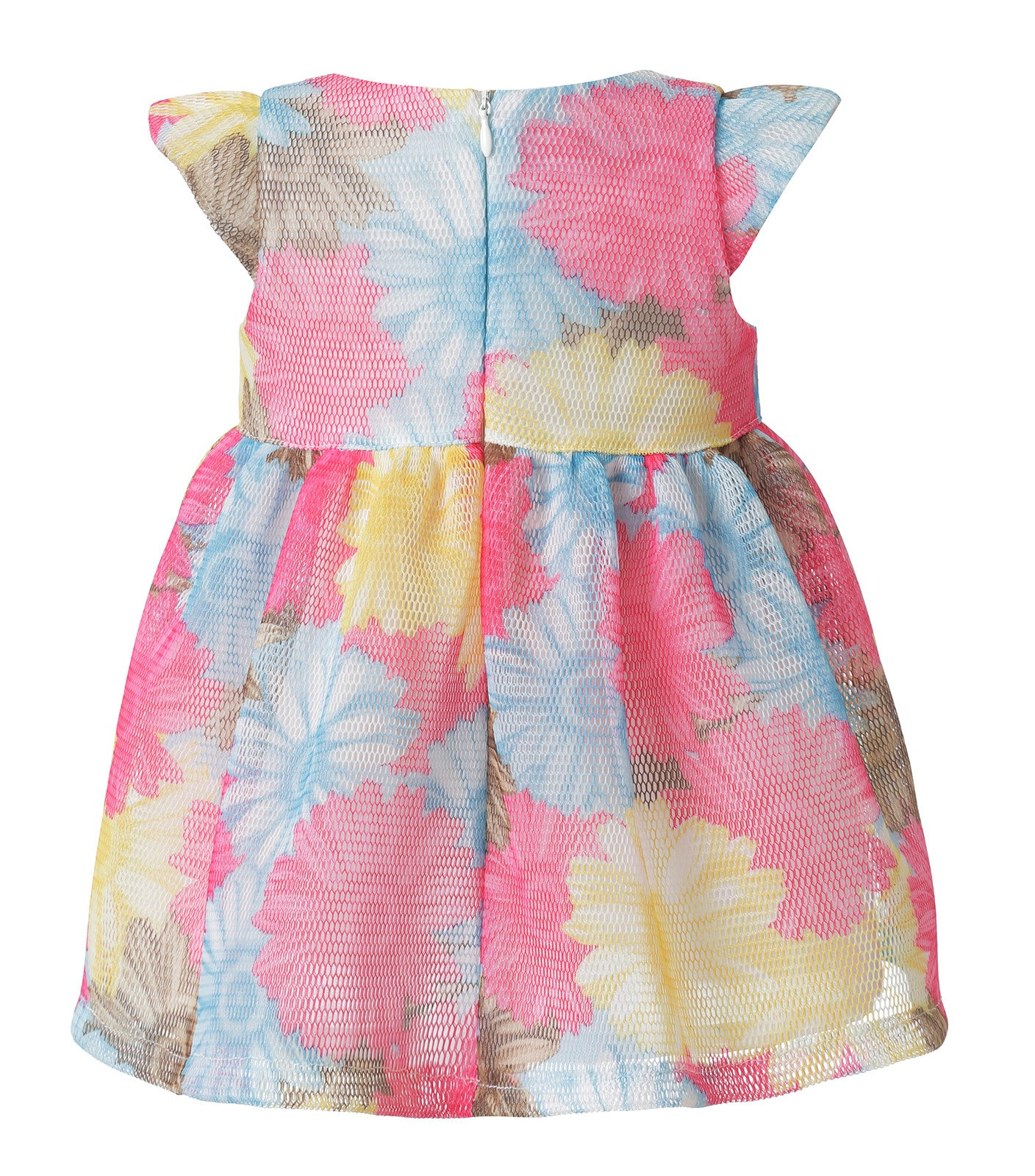 Girl Cute Dress in flower pattern