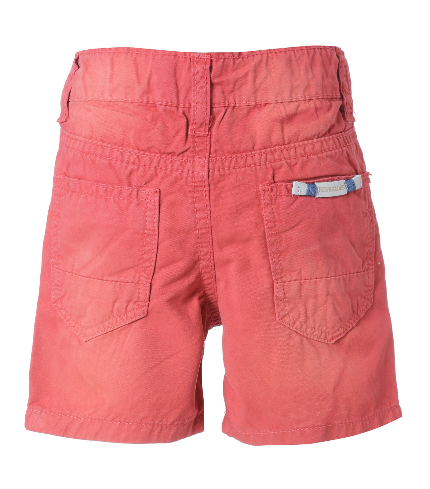 Baby Boys Bermuda in Edgy Red