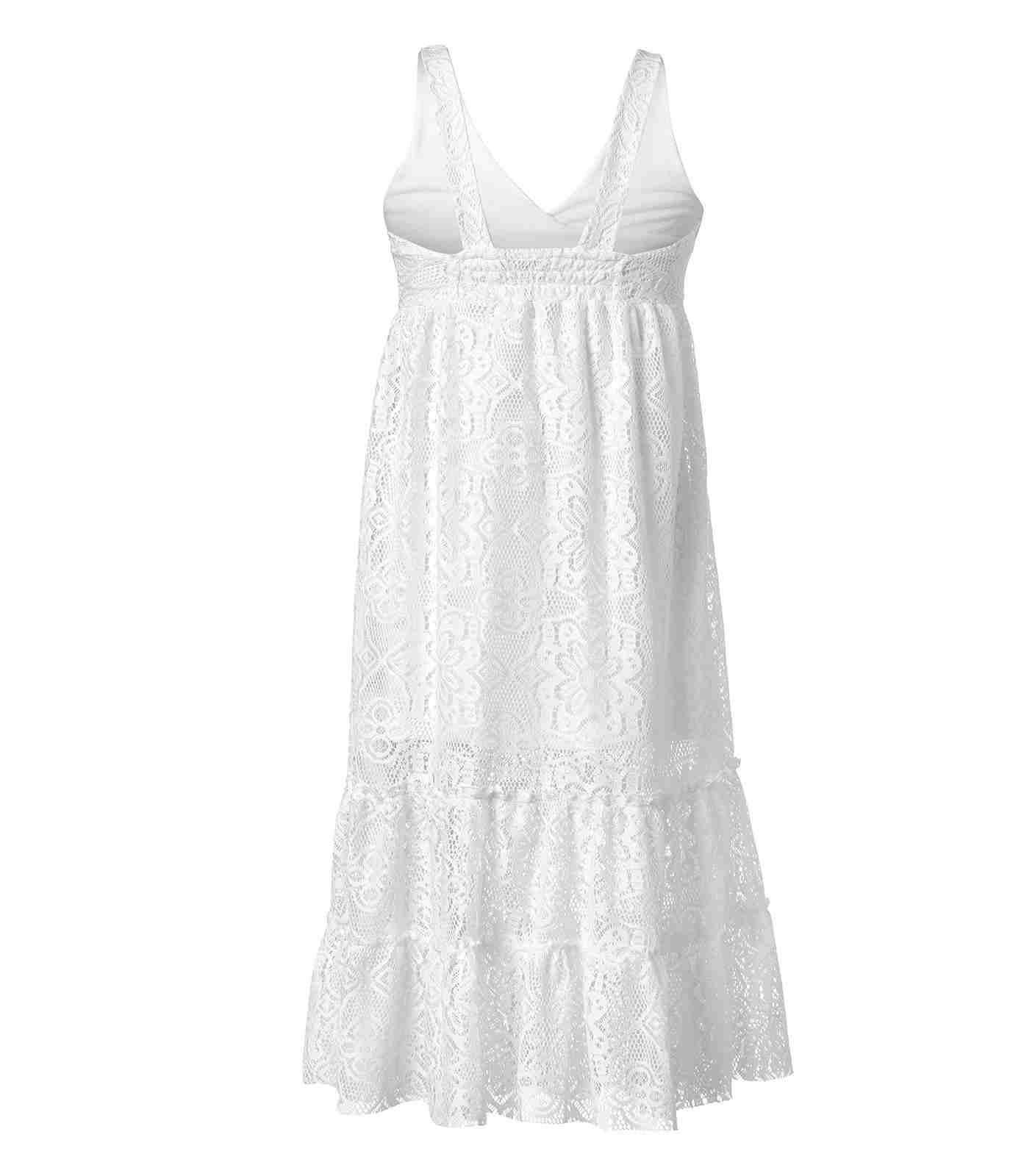 Maxi Lace Summer Dress for Girls