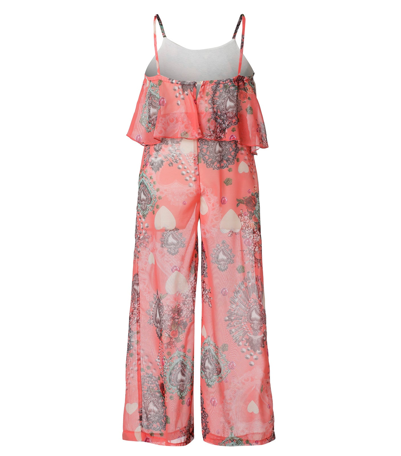 Pink Jumpsuit for girls