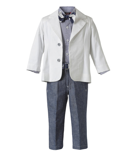 Baby Boys 6 Piece Christening Suit Set