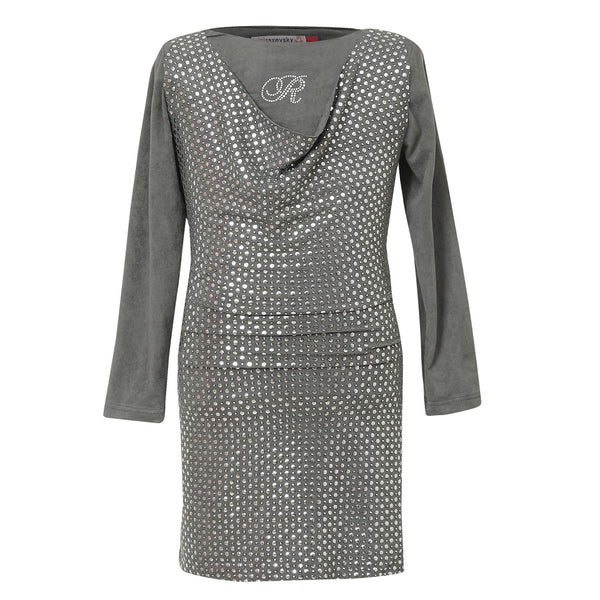 Long Sleeve Dress in gray