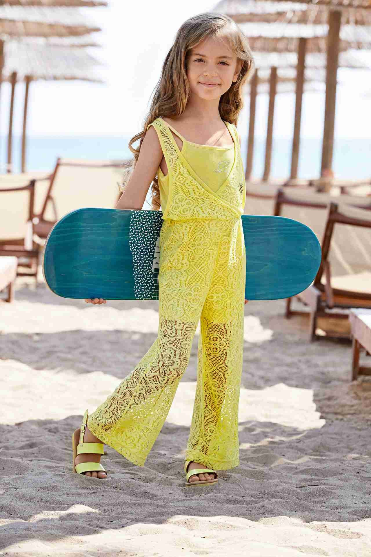 Yellow Jumpsuits for girls