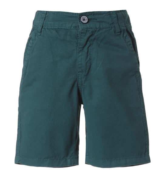 Boys Bermuda in Dark Green