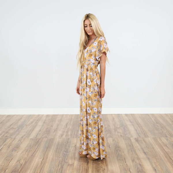Lake House Floral Maxi