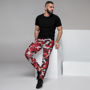 Red Camo 85N Men's Joggers