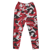 Red Camo 85N Women's Joggers