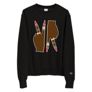 Peace Up, A-Town Down Champion Sweatshirt