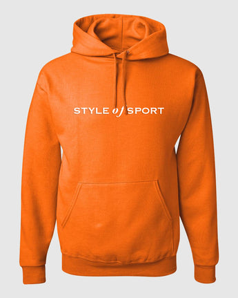 STYLE OF SPORT Orange Hoodie