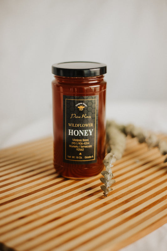 18 oz Wildflower Honey