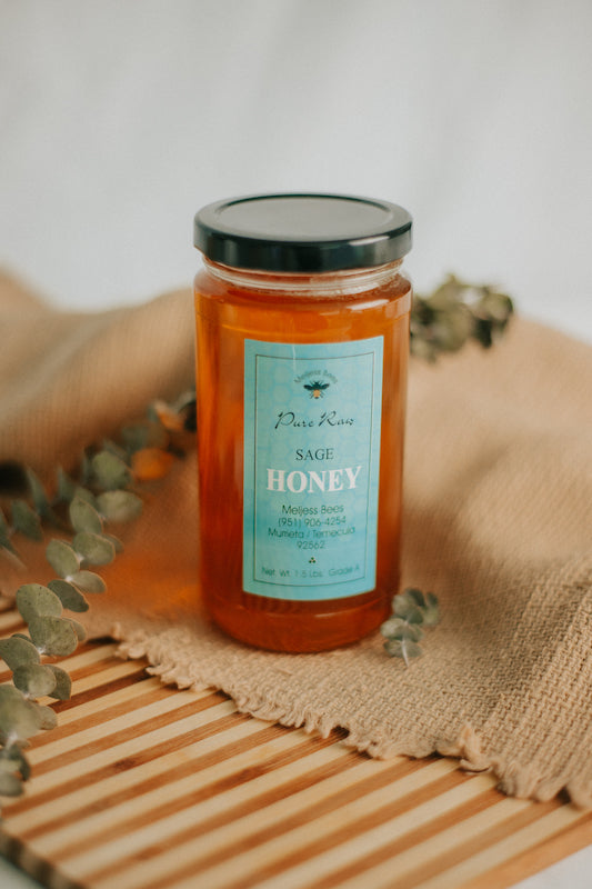 18 oz Sage Honey