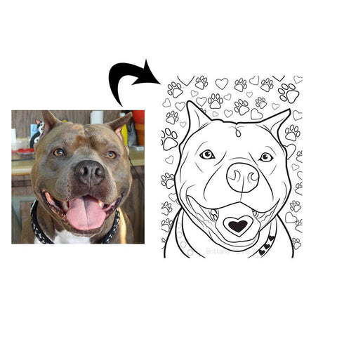 Coloring Page Of Your Pet