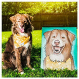 Pet Portrait (Canvas Print)