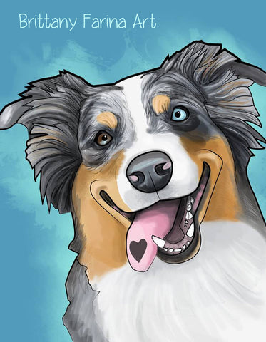 One Animal Pet Portrait