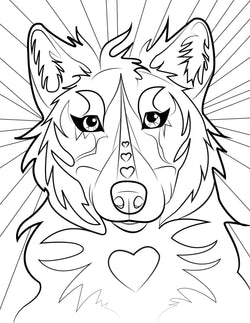 Adult Coloring Books – Brittany Farina Art