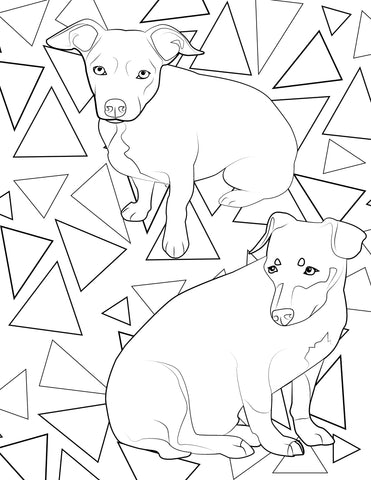 Coloring book of your pet
