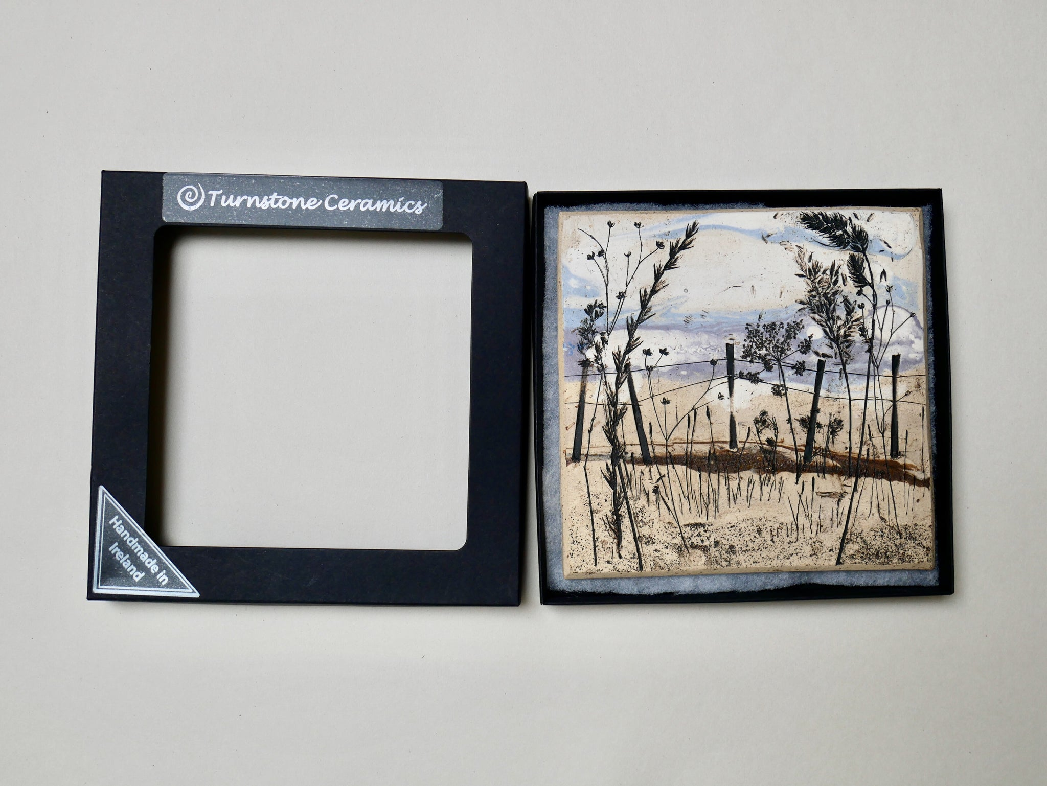 Ceramic Irish Landscape Wall Art