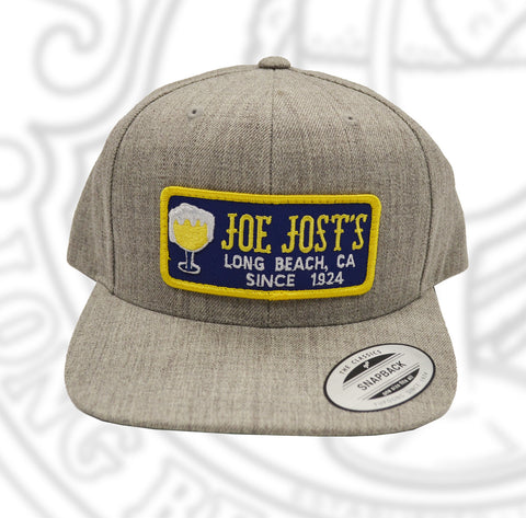 Joe Jost's Wool Patch Hat Grey