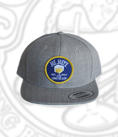 Joe Jost's Circular Logo Wool Patch Hat Grey