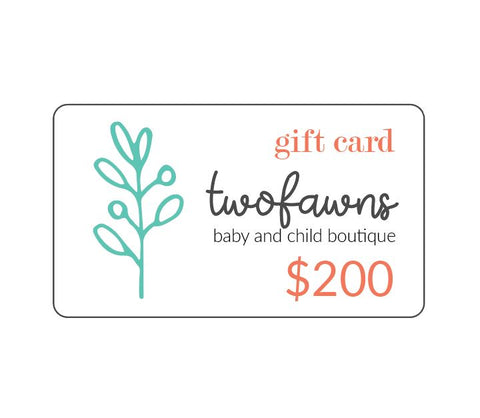 TWO FAWNS Gift Cards