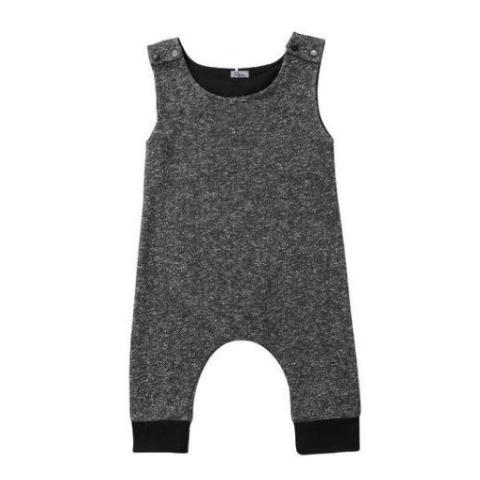 Gregory Dark Grey Sleeveless Romper