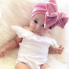 Image of Reagan Velvet Headband Bow - Dusty Rose