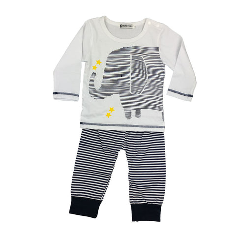 Roger Elephant + Stars 2-piece Outfit