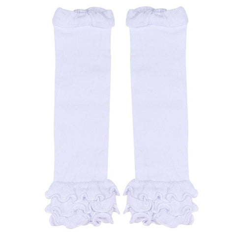 Everly Ruffle Top Leg Warmers - Various Colors