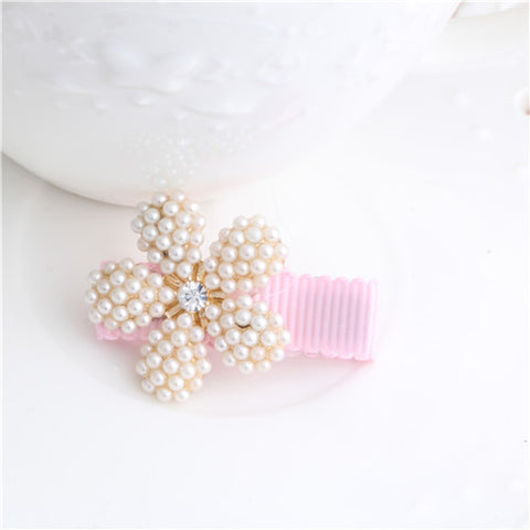 Angel Pearl Baby Hair Clips