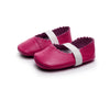 Image of Nellie Genuine Leather Ballet Rubber Sole Walkers - Various Colors