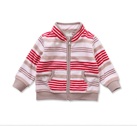 Ethan Red Stripe Jacket