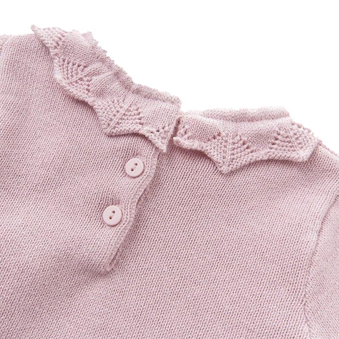 Mackenzie Pink Sweater Dress