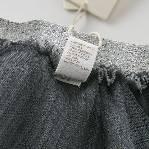 Lillian Grey + Silver Tutu Pants