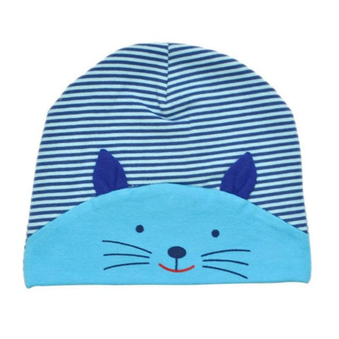 Jameson Striped Cat Winter Hat - Various Colors