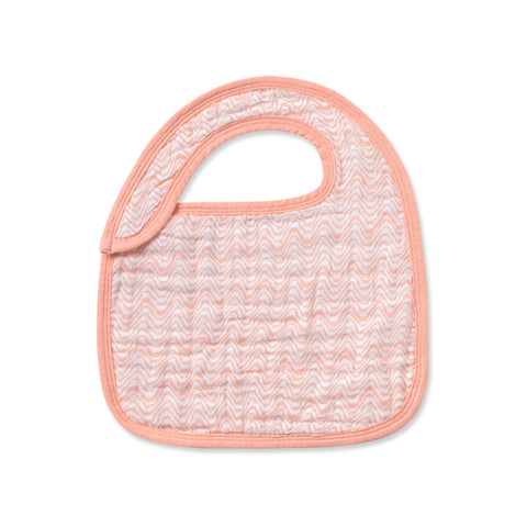 Cotton Muslin Drool Bibs - Various Colors