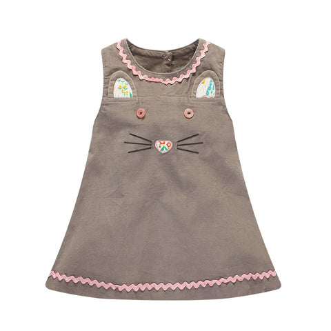 Celia Mouse Corduroy Dress