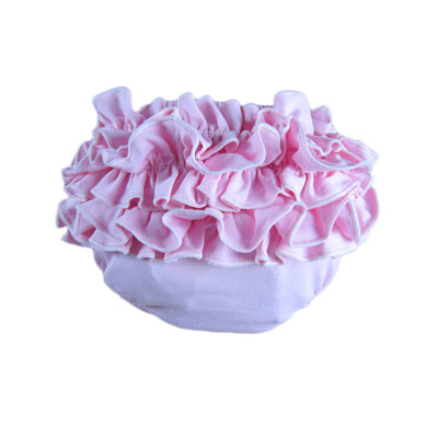 Luna Newborn Ruffle Diaper Cover - Various Colors