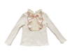 Image of Kelli Ruffles + Bow Long Sleeve Top - Cream