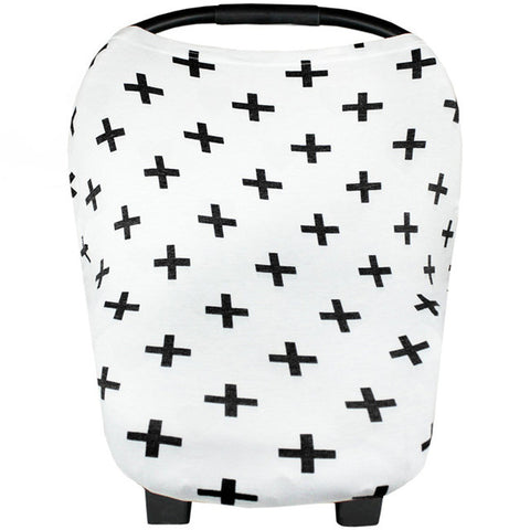 Multi-Functional Nursing + Car Seat Cover - Various Patterns