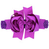 Image of Elise Jumbo Elastic Headband Bow - Various Colors