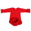 Image of Emelia Newborn Ruffled Sleepgown