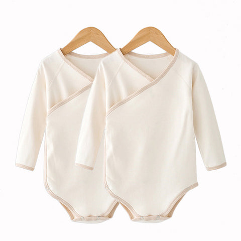 Lucky Child Long Sleeve Organic Cotton Onesie 2-piece Set