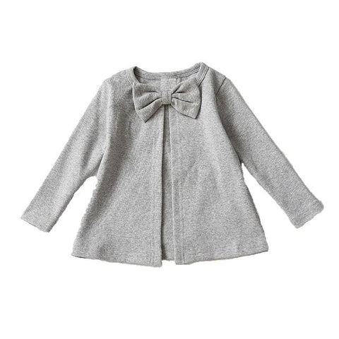 Fiona Bow Jacket - Grey