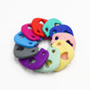 Image of Soft Silicone Elephant Teethers - Various Colors