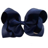 "Image of Ava 5"" Solid Color Ribbon Bow with Clip - Various Colors"